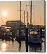 Sunrise On The Eastern Shore Of Maryland Canvas Print