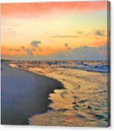 Sunrise On The Gulf Canvas Print