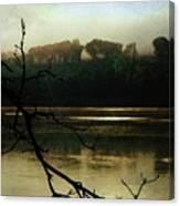 Sunrise On The Hudson River, No. 14 Canvas Print
