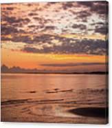 Sunrise On The Shore  Canvas Print
