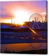 Sunrise Over Del Mar Fair Canvas Print