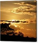 Sunrise Over Fort Salonga4 Canvas Print