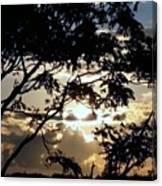 Sunrise Over Fort Salonga6 Canvas Print