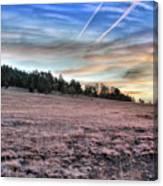 Sunrise Over Ft. Apache Canvas Print