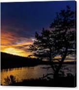 Sunrise Over Hauser Canvas Print