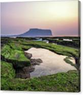 Sunrise Over Jeju Island Canvas Print