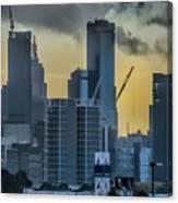 Sunrise Over Melbourne Canvas Print