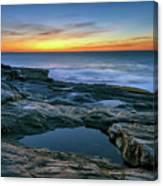 Sunrise Over Pemaquid Point Canvas Print