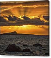Sunrise Over Rabbit Head Island Canvas Print