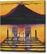 Sunrise Over Rainier Canvas Print