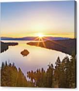 Sunrise Over The Bay Canvas Print