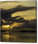 Sunrise Over The Ninth Ward Canvas Print