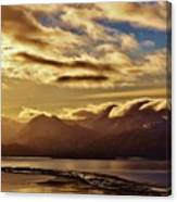 Sunrise Over The Spit Canvas Print