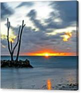 Sunrise Punta Cana Canvas Print