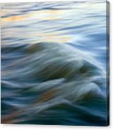 Sunrise Ripple Canvas Print