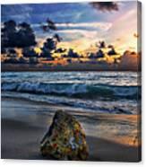 Sunrise Seascape Wisdom Beach Florida C3 Canvas Print