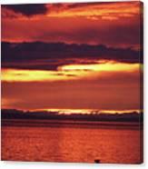 Sunrise Sekiu Washington Canvas Print