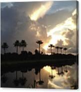 Sunrise Storm Canvas Print