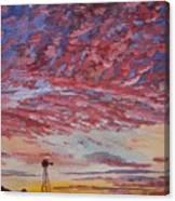 Sunrise / Sunset Canvas Print
