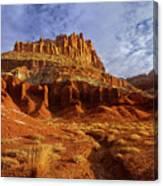 Sunrise The Castle Capitol Reef National Park Utah Canvas Print