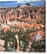 Sunrise Trail Bryce Canyon Canvas Print