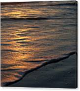 Sunrise Waves Canvas Print