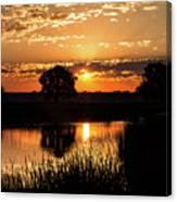 Sunrise's Crepuscular Rays Canvas Print