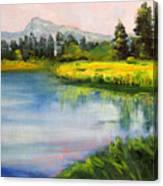 Sunriver Canvas Print