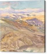 Sunset , John Singer Sargent Canvas Print
