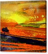 Sunset 15 Canvas Print