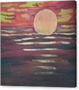 Sunset-3 Canvas Print