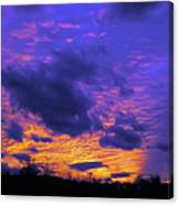 Sunset After Storm Canvas Print