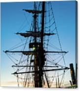 Sunset Ahoy Canvas Print