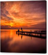 Sunset Albufera 2 Canvas Print