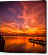 Sunset Albufera Canvas Print