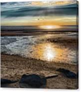 Sunset At Brewster Flats Canvas Print
