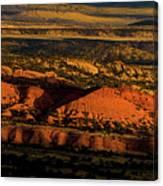 Sunset At Donkey Flats Canvas Print