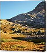 Sunset At Eldorado Lake - Weminuche Wilderness - Colorado Canvas Print