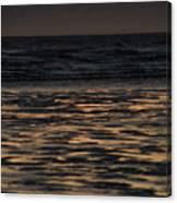 Sunset At Kenai Beach Canvas Print