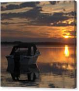 Sunset At Kiviranta Pt 2 Canvas Print