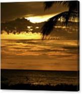Sunset At Ko'olina Canvas Print