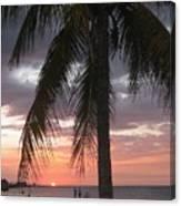 Sunset At Montego Bay Canvas Print