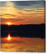 Sunset At Princess Point Canvas Print