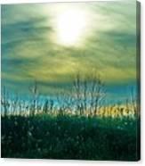 Sunset At Rapp Park Canvas Print
