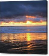 Sunset At Salt Creek Canvas Print