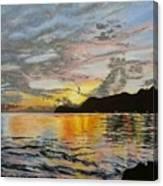 Sunset At The Barracks Canvas Print