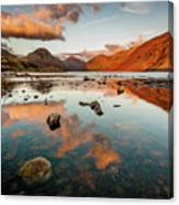 Sunset at Wast Water #2, Wasdale, Lake District, England Canvas Print
