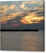 Sunset Bay 18 Canvas Print