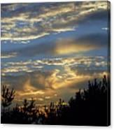 Sunset Bay 8 Canvas Print