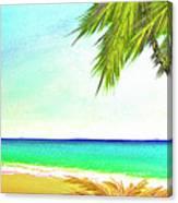 Sunset Beach #373 Canvas Print